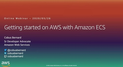 Getting Started on AWS with Containers ECS