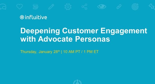 Webinar: Deepening Customer Engagement