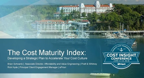 The Cost Maturity Index: Developing a Strategic Plan to Accelerate Your Cost Culture