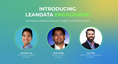 Webinar: Introducing LeanData Engagement