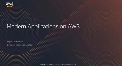 Video: Building Modern Applications at AWS