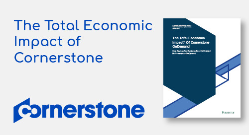 Forrester : The Total Economic Impact of Cornerstone