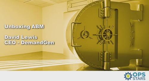 Unboxing ABM