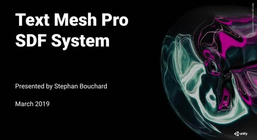 Text Mesh Pro SDF System