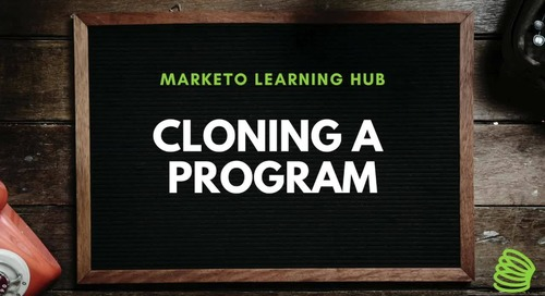 Cloning a Program