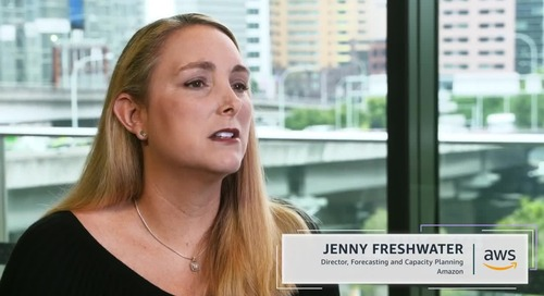 Jenny Freshwater - How Amazon and AWS Experiment from the Bottom Up