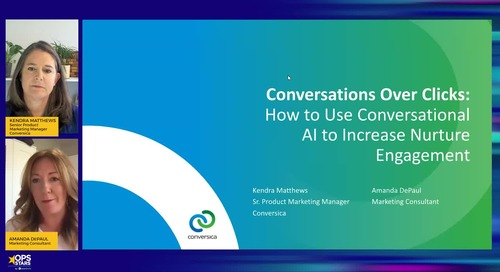 Conversations Over Clicks: Use Conversational AI to Increase Nurture Engagement