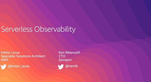 Serverless Observability - Recording