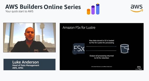 Managing your unstructured data on AWS