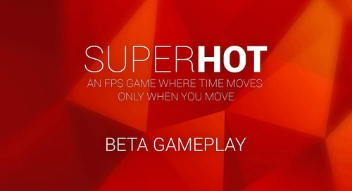 SUPERHOT Beta Gameplay