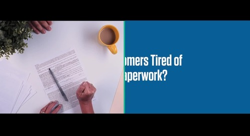 Is signing paperwork frustrating your customers?