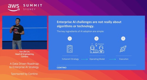 A Data Driven Roadmap to Enterprise AI Strategy (Sponsored by Contino)