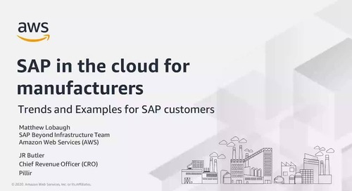 SAP in the Cloud for Manufacturers