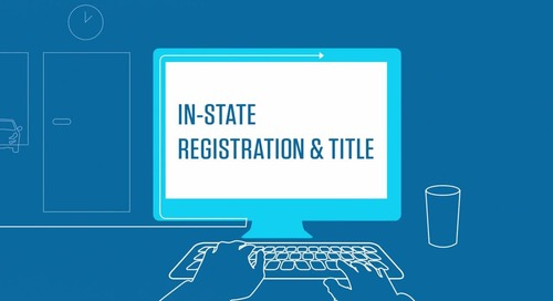 Get the Deal Out the Door with Dealertrack In-State Registration and Title solution