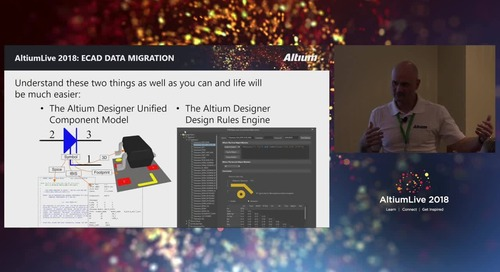 Design Data Migration into Altium Designer