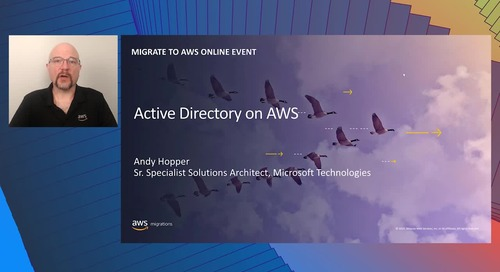 AD on AWS to Support Windows Workloads