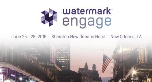 WATERMARK ENGAGE 2018