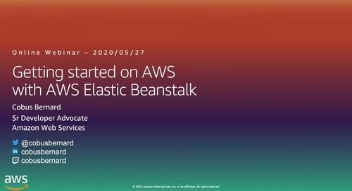 Getting Started on AWS with Containers Elastic Beanstalk