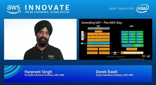 Innovating with SAP on AWS: Delivering value beyond infrastructure - AWS Innovate