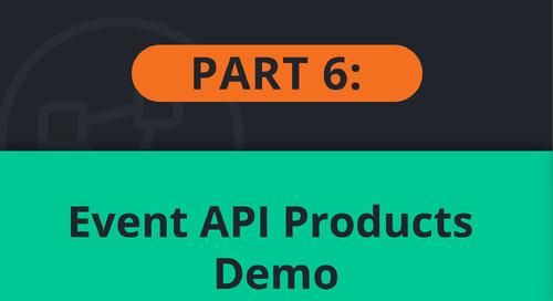 PubSub+ Event Portal Demo Part 6: Event API Products