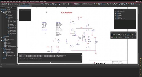 Customizable Workspace - OrCAD Product Feature