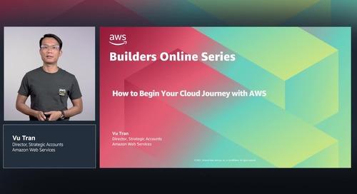 Công ty khởi nghiệp: Cách khởi đầu hành trình đám mây với AWS