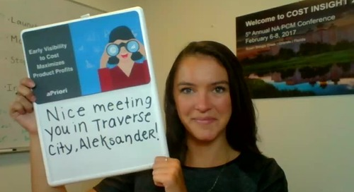 Aleksander, nice meeting you up in Traverse City!