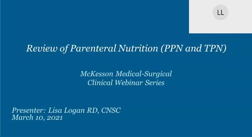 Review of parenteral nutrition
