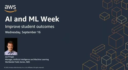 AIML Week: Improve student outcomes with ML