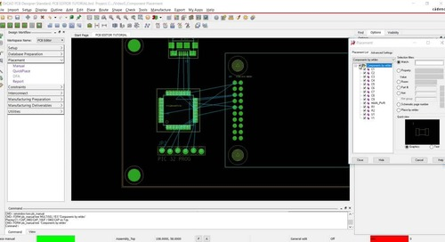 [17.2] PCB Walk-through 5: Component Placement