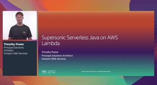 [RECAP - VN] Java không có máy chủ siêu âm trên AWS Lambda