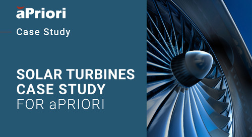 Improving Cost Insight Through Modeling and Negotiating | Cost Insight Conference 2020 Solar Turbine