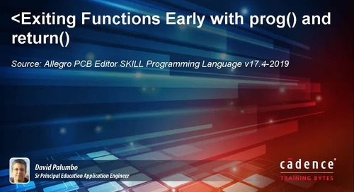 Exiting Functions Early with prog() and return()