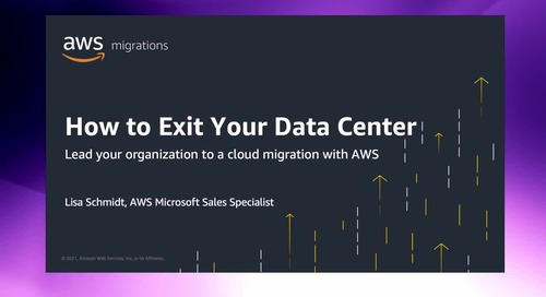 How to Exit your Datacenter - Lead your organization to a cloud migration [Level 100]