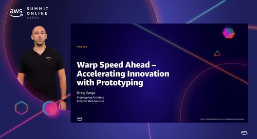 Warp speed ahead - Accelerating innovation with prototyping [L200]