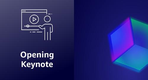 Day 1 Keynote - AWS Summit India 2021