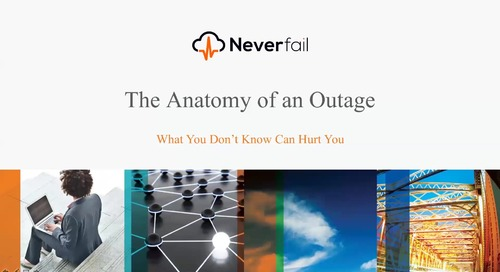Anatomy of an Outage Webinar