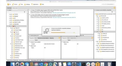 [Demo] Chuyển đổi cơ sở dữ liệu quan hệ truyền thống sang Amazon Aurora - AWS SCT