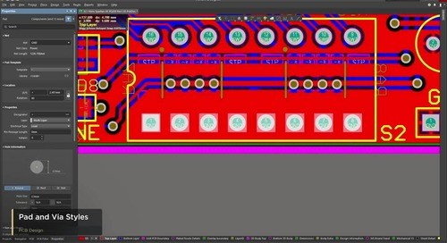 Pad and Via Styles Sneak-Preview