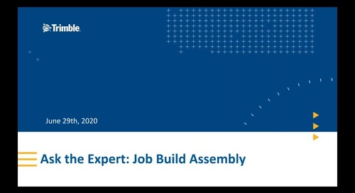 Ask The Experts: Building a Job Assembly (Non-Spec) in Accubid Enterprise-Anywhere
