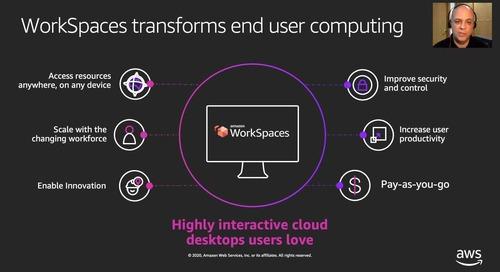 Amazon Workspaces: trabaja desde cualquier lugar