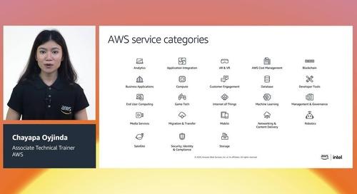 หลักสูตร 1: แนะนำเบื้องต้นเกี่ยวกับ AWS Cloud