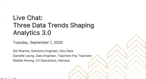 Three Data Trends Shaping Analytics 3.0