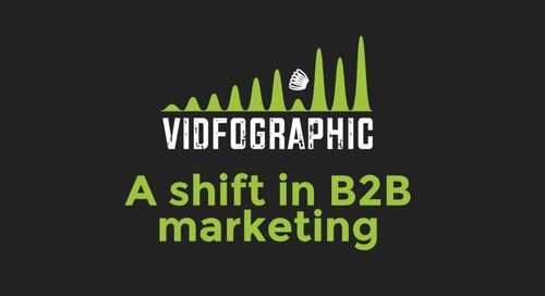 Vidfographic: A Shift in B2B Marketing