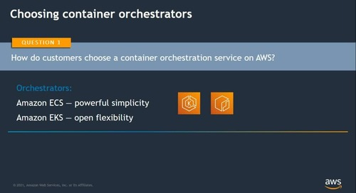 Dive Deep on Running Modern Application with AWS Container Services (Cantonese Webinar)