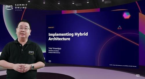 Menerapkan arsitektur hybrid antara lingkungan on premise dengan AWS [L300]