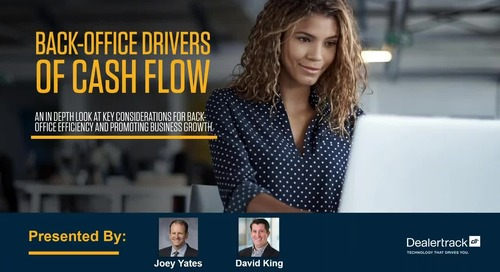 Accelerated Title Cash Flow Webinar