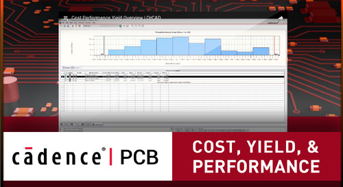 Cost Performance Yield - Overview