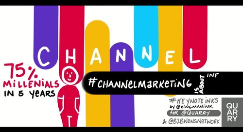 #ChannelMarketing insight from @jmcbain of @Forrester (via @mojomktg). #B2BMX #KeyNoteInks