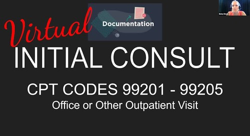 Video: Virtual Bariatric Care Consultation: Telehealth Delivery, Documentation, and Coding